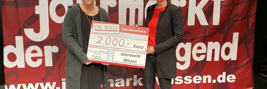 2000 € Spende